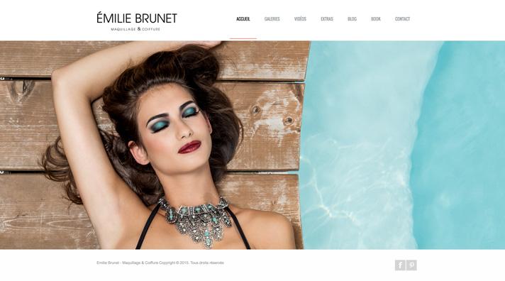 Maquillage Coiffure Emilie Brunet